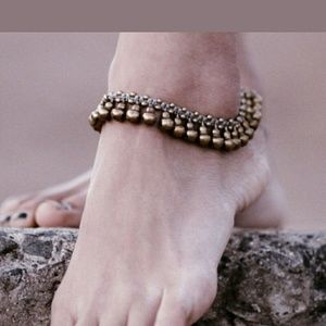 Jewelry - Percussion Ankle Bells Bronze Anklet